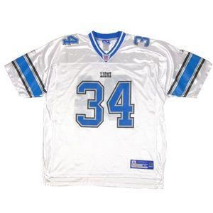Kevin Jones #34 Detroit Lions NFL Reebok Jersey